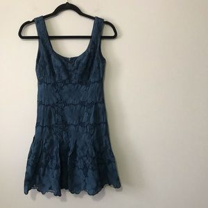 Nanette Lepore Navy Lace Dress